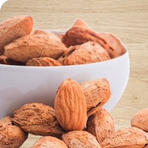 In-shell Almonds