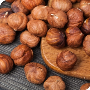 Red Hazelnut without Shell