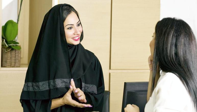 How can I help you? More women join Saudi tourism and hospitality industry