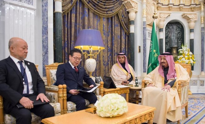 Japanese firms promote products in Saudi Arabia