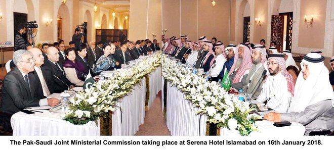 Economic cooperation on menu at Saudi-Pakistani Joint Ministerial Commission meeting
