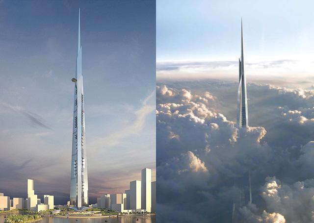 The Kingdom Tower, Jeddah ($1.23bn) Saudi Arabia to build world's tallest skyscraper / Foodex